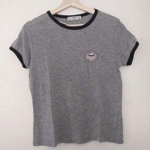 Soft Pull&Bear Tee with Patch